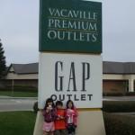 Vacaville Premium Outlets(ヴァカヴィル・プレミアム・アウトレット)に行ってみました2-カリフォルニア旅行記2009/12 /18
