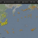 飛行機が今どこを飛んでいるのかが分かるウェブサイト Flightradar24